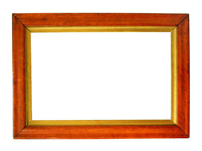 """Antique Bird's-Eye-Maple Picture Frame,  18 1/8"""" X 25 7/8"""" Overall Size"""