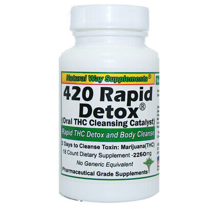 THC Cleanse - 420 Rapid Detox - 48 Hours to Cleanse Formula
