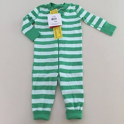2) HANNA ANDERSSON Baby Boy Zip Up Pajamas Size 50 (0-6 Months ... c4fe3c211