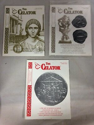 The Celator 2003 Lot of 3 Coins Ancient Medieval Byzantine Magazine Auction
