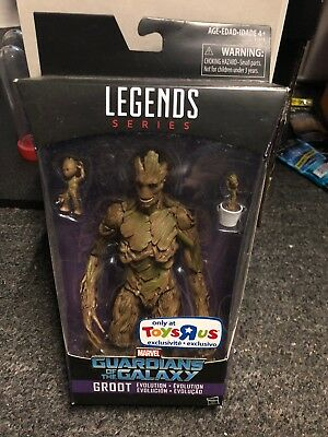 Guardians of the Galaxy Vol. 2 Marvel Legends Groot Evolution