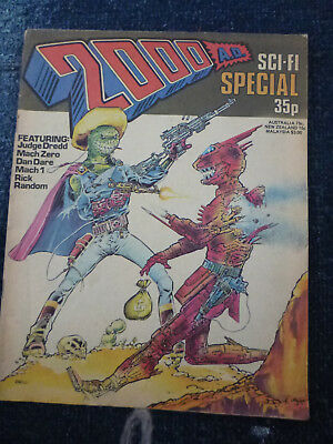 2000AD sci fi summer special 1978 very rare