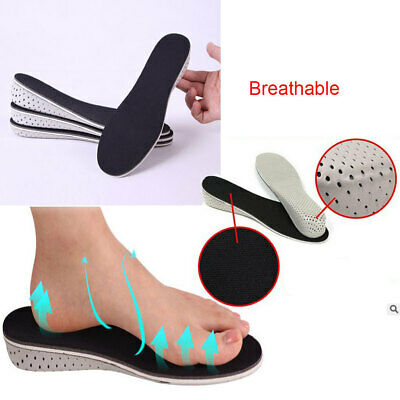 Arch Support Insole Heel Lift Shoe Inserts Invisible Height Increase Pad