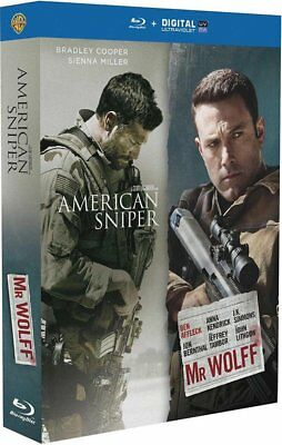 American Sniper + Mr. Wolff - Coffret Blu-Ray