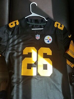 8636d9c3fcf Nike NFL Color Rush Legend Edition Pittsburgh Steelers LeVeon Bell Legend  Jersey