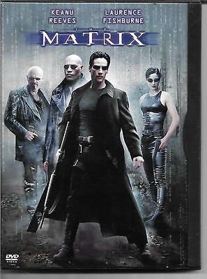 The Matrix (DVD)! Keanu Reeves! Laurence Fishburne! Carrie-Anne Moss! Sci-Fi!