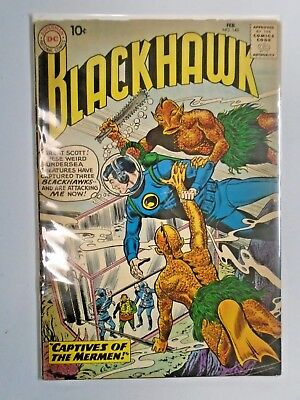Blackhawk #145 - First 1st Series - see pics - cover detached - 1960