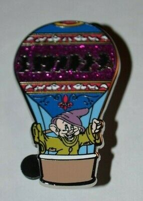 Disney Dopey Hot Air Balloon Adventure Is Out There Mystery Pin New