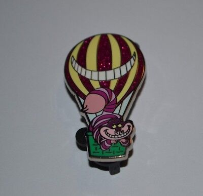 Disney Cheshire Cat Hot Air Balloon Adventure Is Out There Mystery Pin New