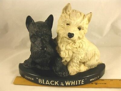 Buchanan's Black & White Scotch Whisky Dog Bar Advertising Pre Wwii