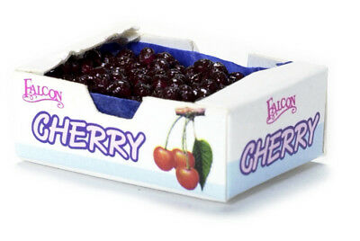 Dollhouse Miniature FOOD Crate/Case of Cherries Groceries General Store Kitchen