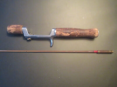 Vintage American Fork and Hoe Co. Coated Spring Steel Fishing Rod