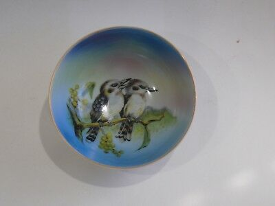 Vintage Noritake China Small Kookaburra Bowl