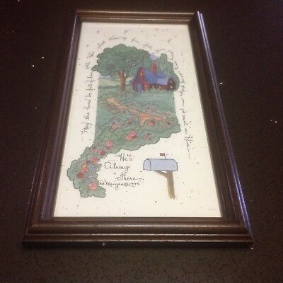 D. Morgan Framed Print ''He's Always There '' 1994