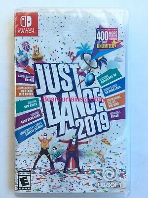 Just Dance 2019 19 Switch Nintendo Brand New Factory Sealed Fast Ship w Tracking