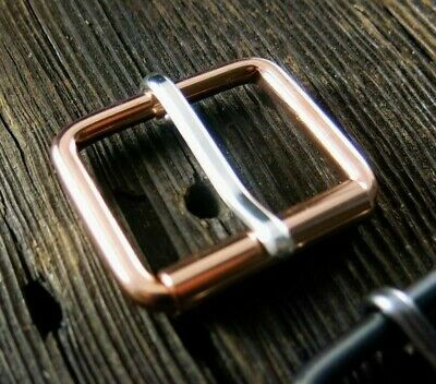 Copper Buckle Sterling Tongue | Roller Buckle USA