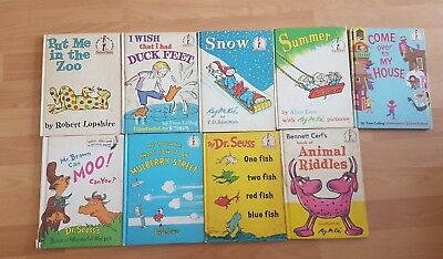 Drseusss 9 Book Set Hardback Put Me In The Zoo Snow Duck Feet