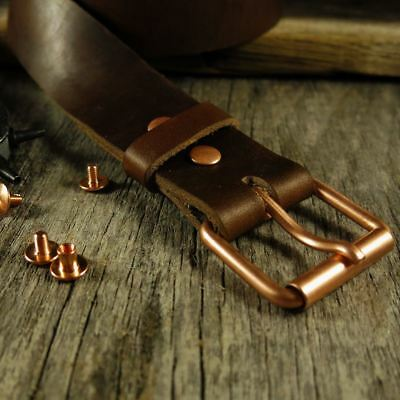 Belt Build Kit | Copper Buckle Horween Chromexcel