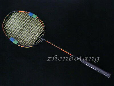 Hot DUORA 10 badminton racket Carbon DUO10 Green/Orange Badminton Racket 1pcs
