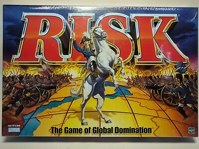 Risk Board Game The Game of Global Domination 1998 Edition Factory Sealed Hasbro