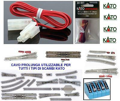 KATO 24-841 EXTENSION CABLE Cm.90 for POWER SUPPLY EXCHANGE ELECTRIC