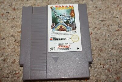 Super Turrican (Nintendo NES) Cart Only Import Pal A Tu-Ukv