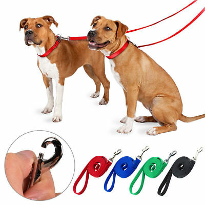 "Dog Pet Puppy Training Lead Leash 50ft 15m Long Line Obedience Recall 1"" wide UK"