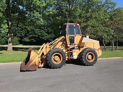 Case Wheel Loader W-14 with ACS Coupler 1,064 Hours 4x4