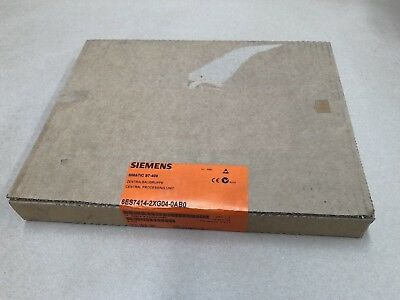 Siemens 6ES7414-2XG04-0AB0 Simantic S7-400 Central Processing Unit NEW SEALED