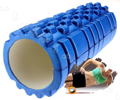 33x14cm EVA Physio Foam Roller Yoga Pilates Exercise Back Home Gym Massage