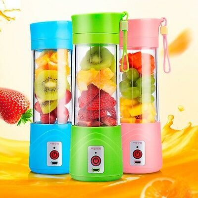Juicer Fruit Mixing  Portable Mini Blender Usb  Rechargeable Mixing Machine.