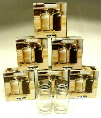 18 Sets Circleware Kitchen Yorkshire 2 Piece Salt & Pepper Shaker Sets - 2.87 oz