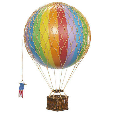 NEW Authentic Models Travels Light Balloon Model Rainbow