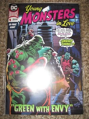 Young Monsters In Love 1 - 80 Page $10 Cover - Swamp Thing - Near Mint+