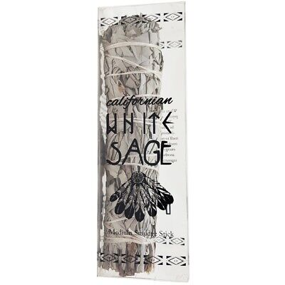 "4 x Smudge Stick California White Sage - Medium / 5"" (13cm) Gift Package"