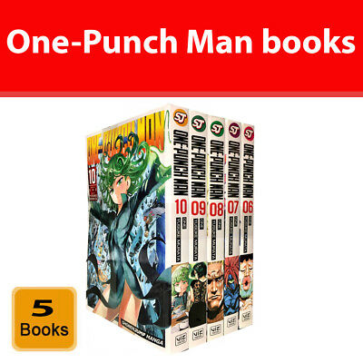 One-Punch Man 5 Books Volume ( 6-10 ) set Collection Childrens Manga NEW Book