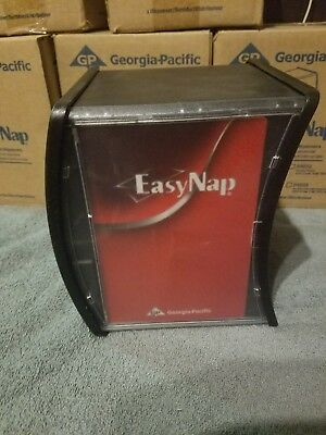 Georgia Pacific EasyNap Counter Dual Napkin Dispensers NEW in BOX Black