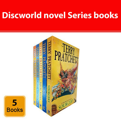 Discworld Novels Terry Pratchett Series 1 (1 to 5) 5 Books set collection NEW