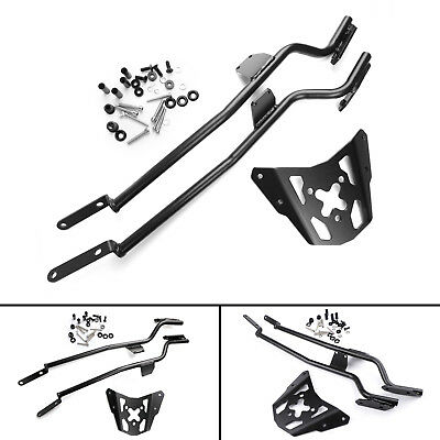 Motorcycle Sissy Bar Luggage Rack Carrier Plate For Yamaha MT-07 FZ-07 14-17 B4