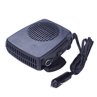 12V Car Warm Air Blower Heater Windshield Demister Dryer Fan Heated Defroster x1