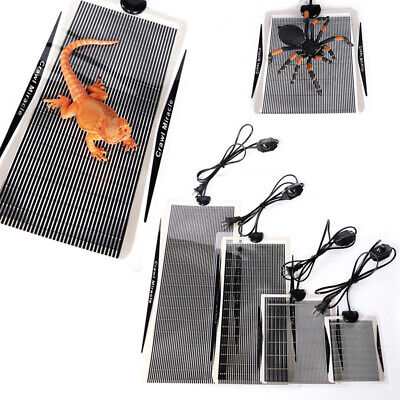 Heat Mat Reptile Brooder Incubator Heating Pad Warm Heater Pets Supply 5-35W