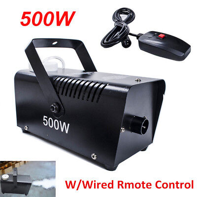 500W Smoke Mist Fog Effect Machine for DJ Disco Stage Party CE Approal Remote