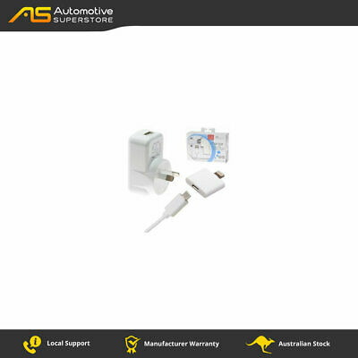 Aerpro APL1005 Ac/dc charger to usb port 21a hardwired iphone 5 cable for chargi