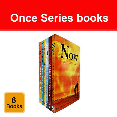 The Once Series 6 Books Set by Morris Gleitzman (Now, After, Then, Soon, Maybe