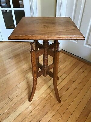 (Vintage) Oak End Table / Side Table / Night Stand