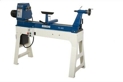 "RIKON 70-450 20"" x 37"" Variable Speed Lathe"