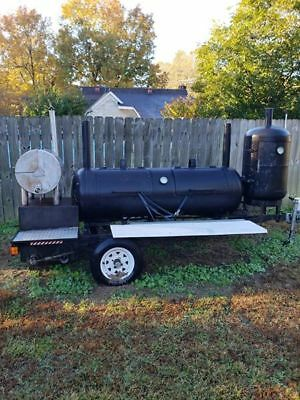 Competetion BBQ Trailer Smoker - Super Nice - Barbeque Cooker