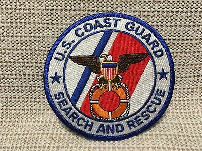 Us Coast Guard Search And Rescue Large Patch
