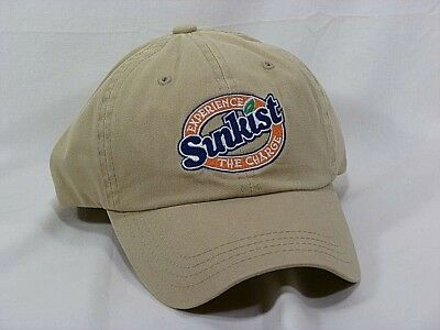 """Vintage Sunkist """"Experience the Charge"""" Baseball Style Cap - NOS"""