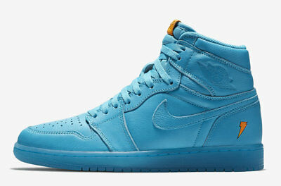 2017 Nike Air Jordan 1 Retro High OG G8RD SZ 12 Gatorade Blue Lagoon AJ5997-455